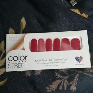 100% real nail polish strips.